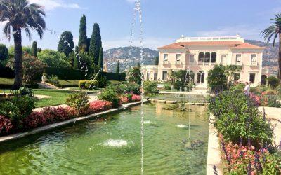 Visite de la Villa Ephrussi de Rothschild
