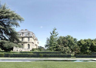 Parc du château de C.